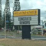 ホノルルから、息子の高校の卒業式 その1