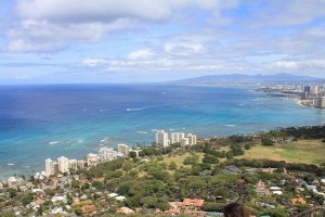 Diamond Head from top