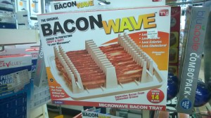 bacon microwave